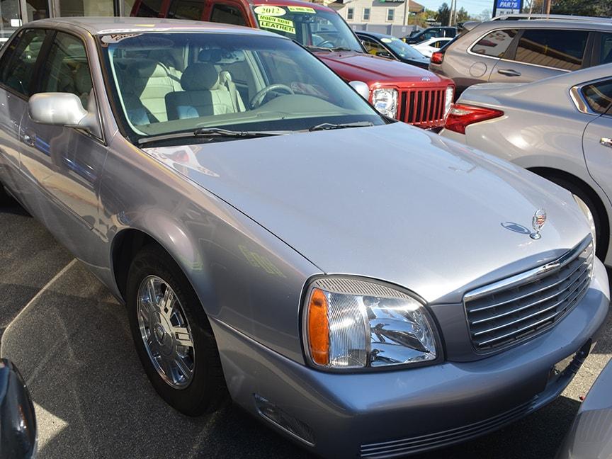 2004 Cadillac Deville - Silver