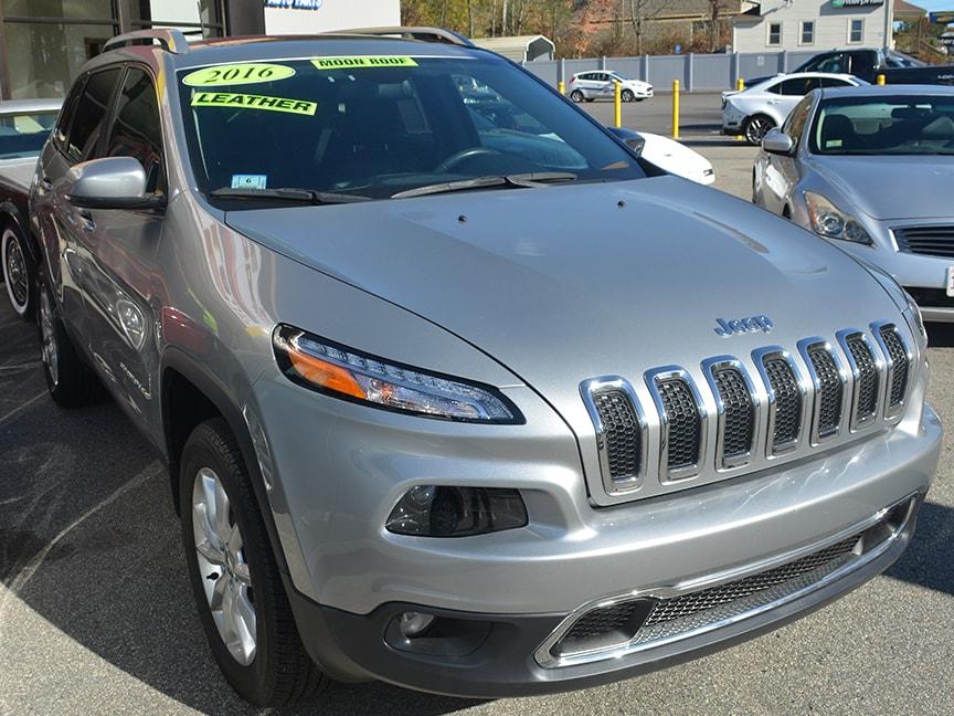 2016 Jeep Cherokee - Silver